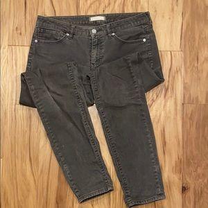 Uniqlo Grey corduroy jeans